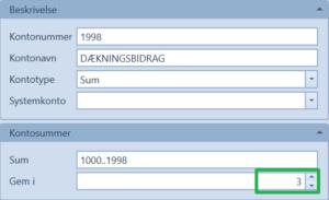 Dækningsbidrag1998