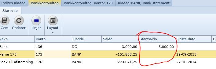 Uniconta | Bankabstimmung | Uniconta