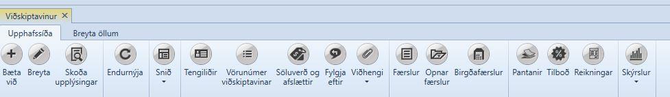, Viðskiptavinir, Uniconta