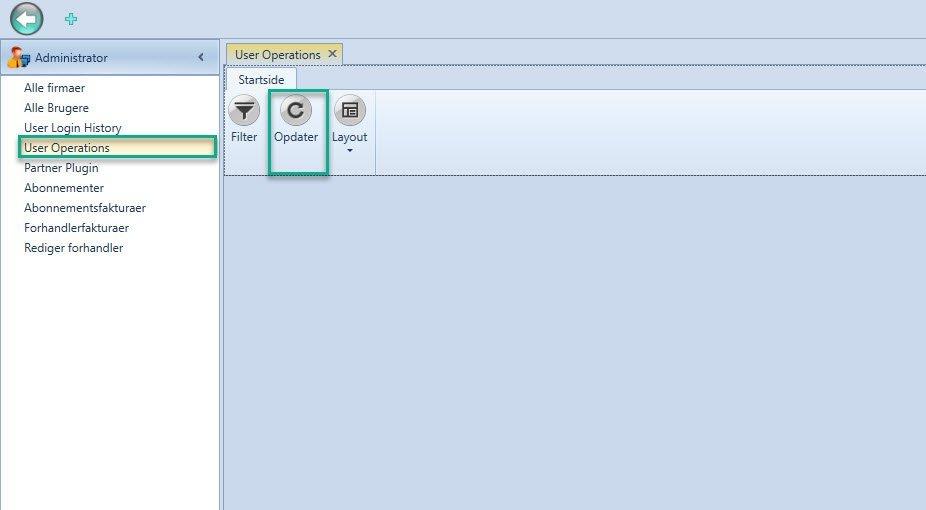 , User Operations, Uniconta