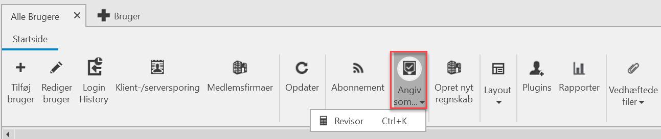 , Opret bruger (Forhandler), Uniconta