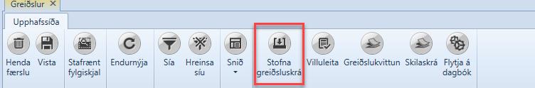 , Greiðslukerfið, Uniconta