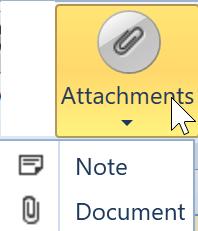 , Attachments, Uniconta