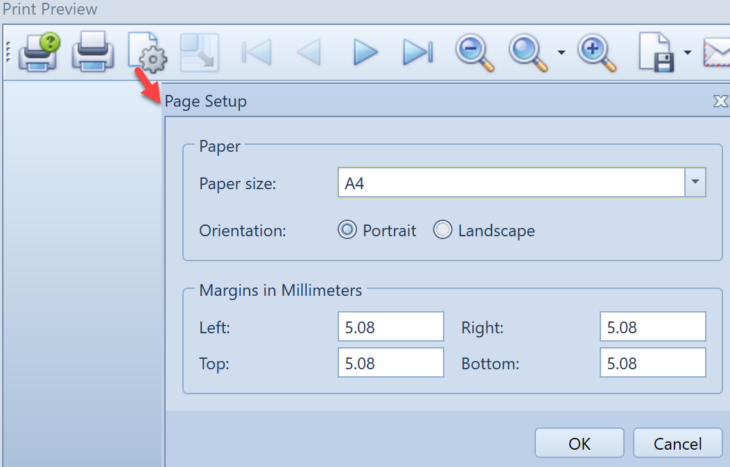 , Export data and reports to file format, Uniconta