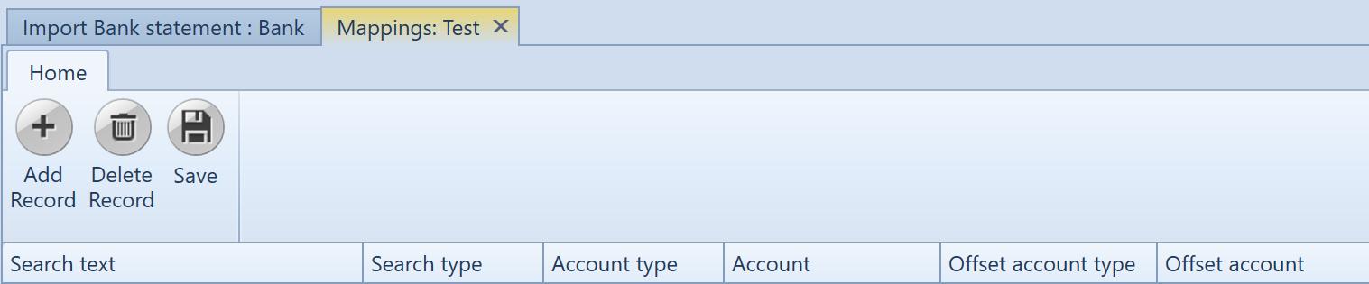 , Automatic account selection, Uniconta