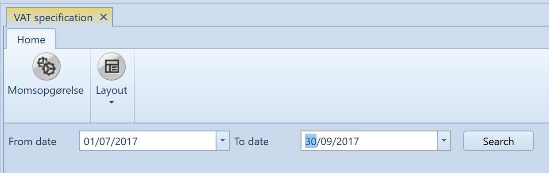 , VAT Reporting – Denmark, Uniconta