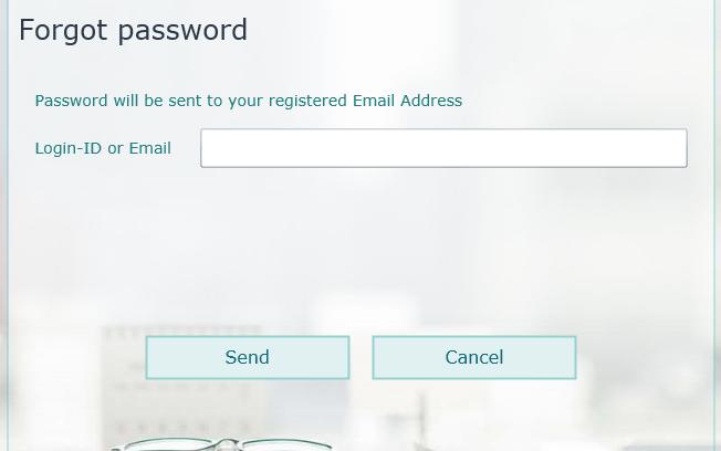 , Forgot Password, Uniconta