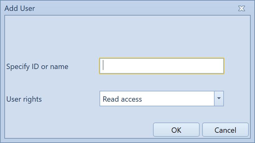 , Manage users, Uniconta