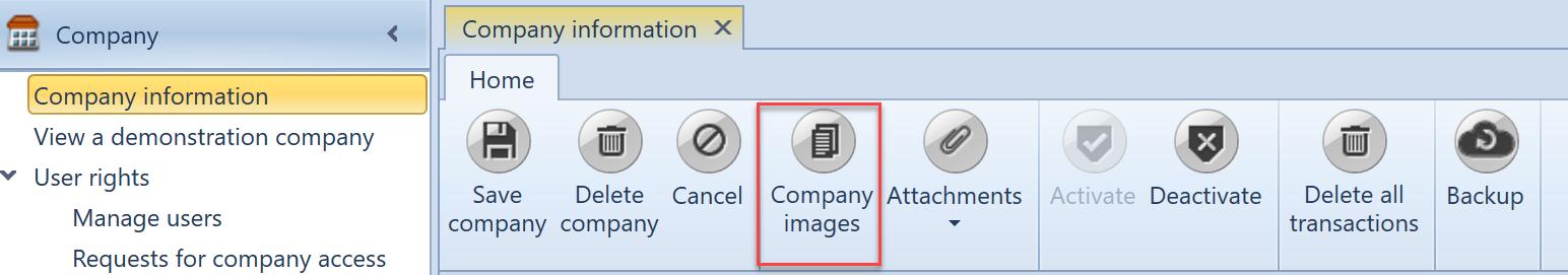 , Invoice layout, Uniconta