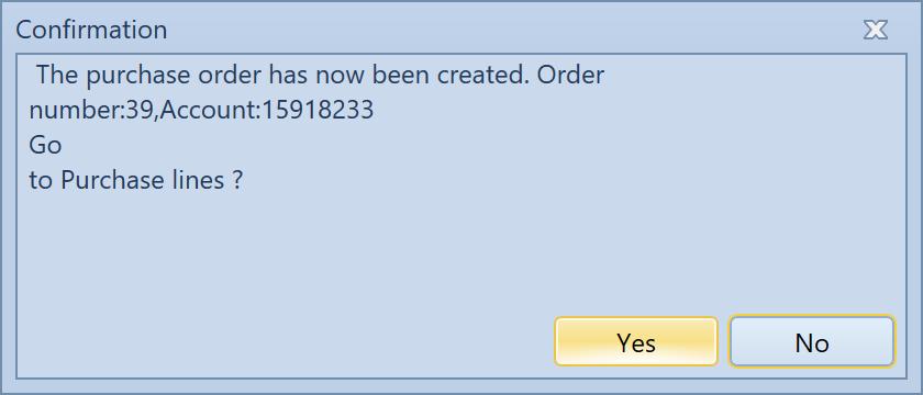 , – Create a purchase/sales order, Uniconta
