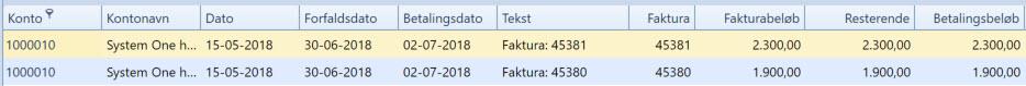 , – Setting up bank days, Uniconta