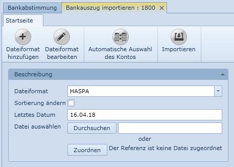 Uniconta | Automatische Auswahl des Kontos | Uniconta
