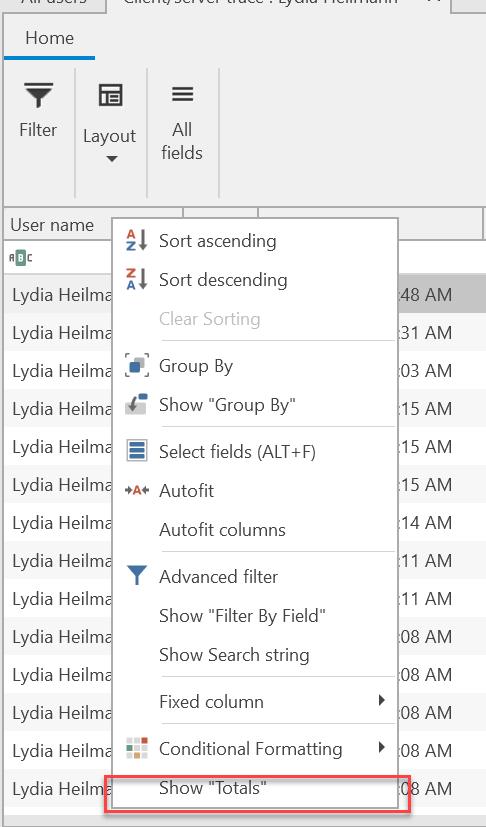 , Count number of calls/API-calls, Uniconta