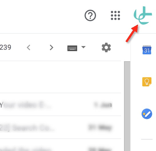 , Gmail settings to send mail in Uniconta, Uniconta