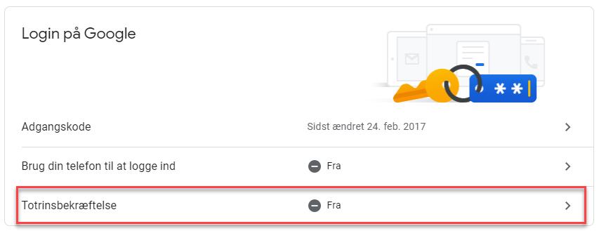 , Opsætning af Gmail i Uniconta, Uniconta