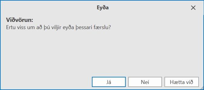 , Hvernig á að skipta PDF skjali, Uniconta