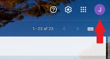 , – Stillingar Gmail til að senda póst í Uniconta, Uniconta