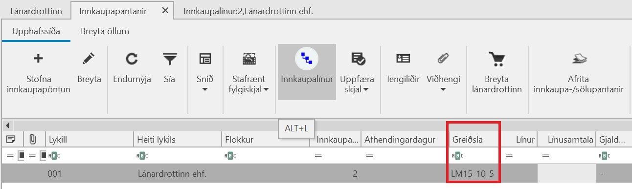 , – Meðhöndlun staðgreiðsluafsláttar, Uniconta