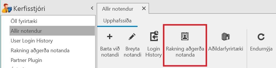 , Telja fjölda API beiðna, Uniconta