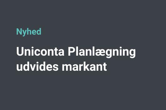 Planlægning Uniconta